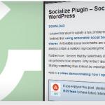 Ajouter les boutons des réseaux sociaux avec Socialize pulgin