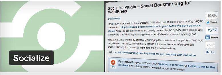 SOCIALIZE-PLUGIN