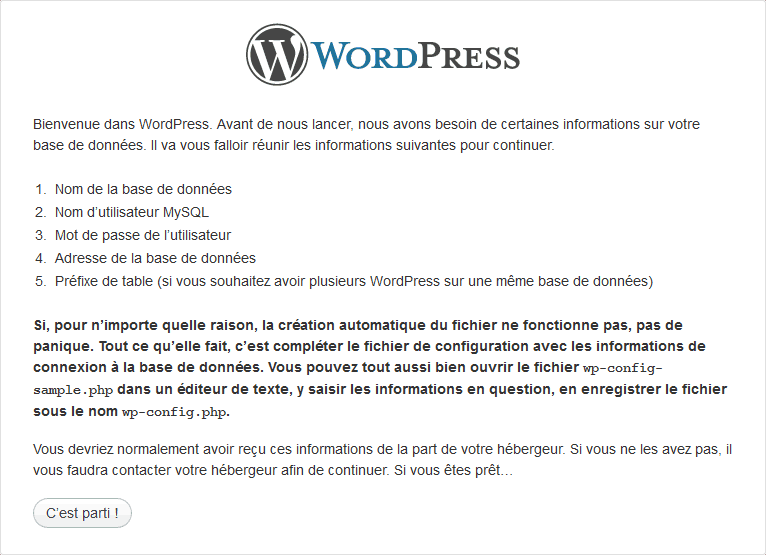 installer-wordpress-base-donnee-connexion