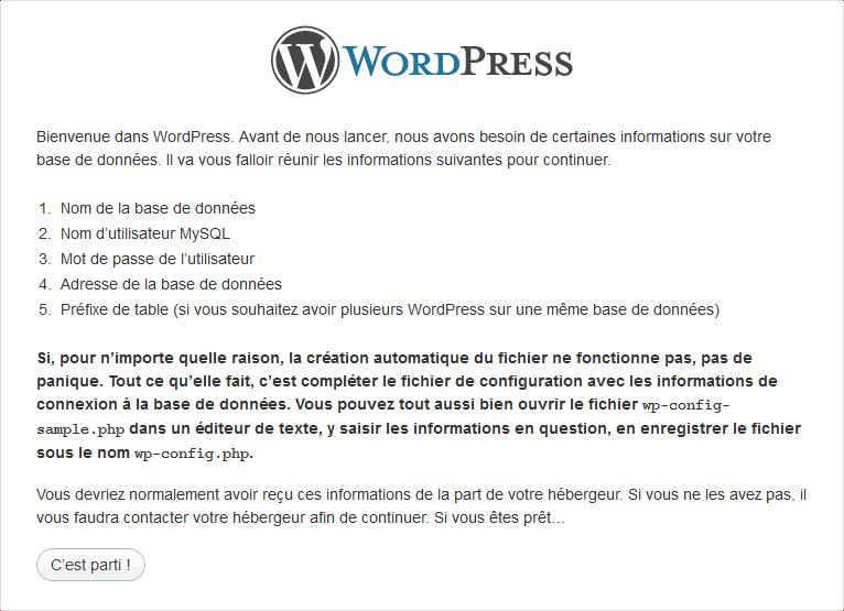installer-wordpress-base-donnee-connexion