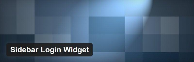 sidebar-login-widget-plugin