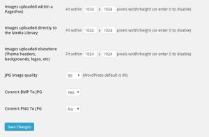 Comment redimensionner les grandes images dans WordPress