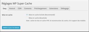Installer et configurer le plugin WP Super Cache