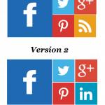 Ajouter les boutons suivre/follow à WordPress et blogger