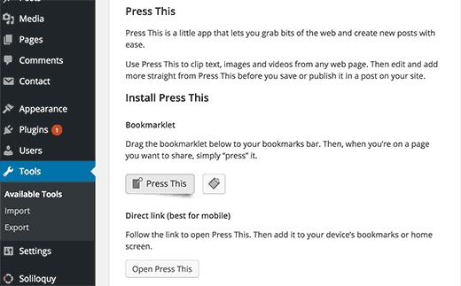 press-this-tools
