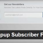 Ajouter une PopUp d'abonnement Feedburner à votre blog