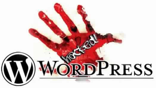 wordpress-hacked piraté