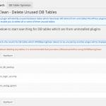 2 méthodes pour nettoyer votre base de données des tables inutilisées