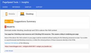 Supprimer le fichier Widget CSS Bundle sous blogger