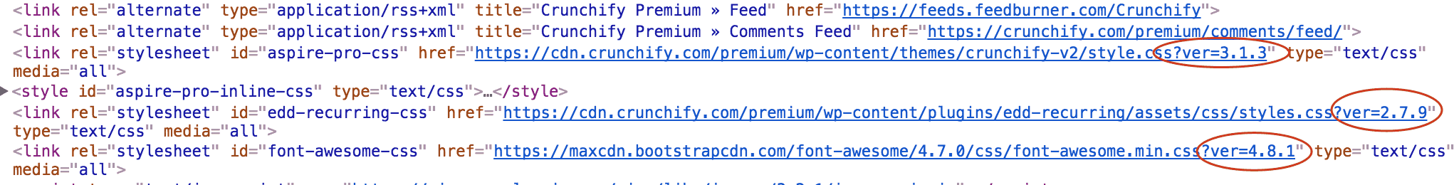 supprimer query string
