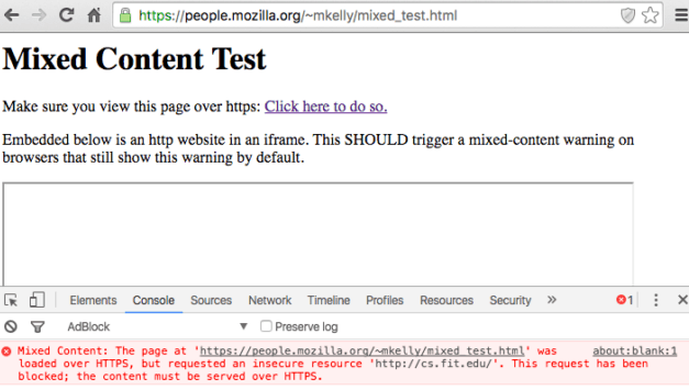 corriger manuellement du contenu mixte wordpress