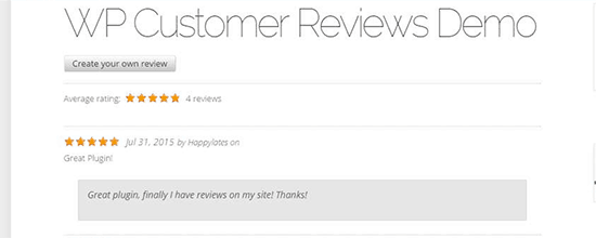 wp-customer-review