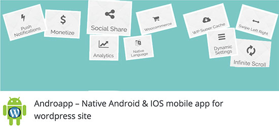 site web to app mobile