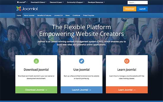 JOOMLA ALTERNATIVE WORDPRESS