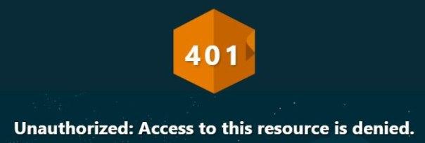 401 erreur de wordpress fix solution