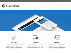 gratuit-wordpress-themes-GeneratePress