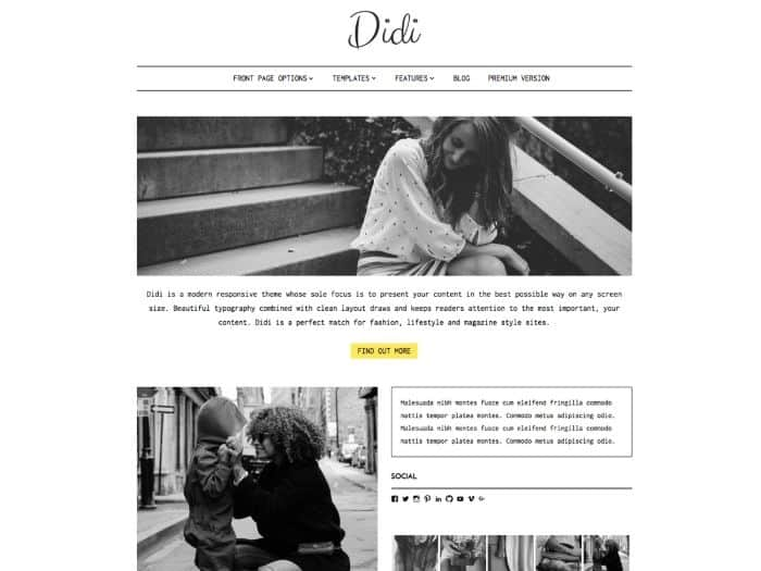 gratuit-wordpress-themes-didi-lite