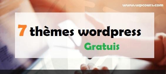 thèmes wordpress gratuis
