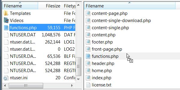 ftp envoi fichier