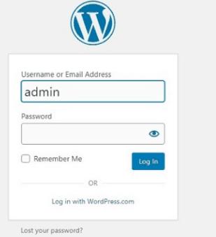 cacher page de connexion admin