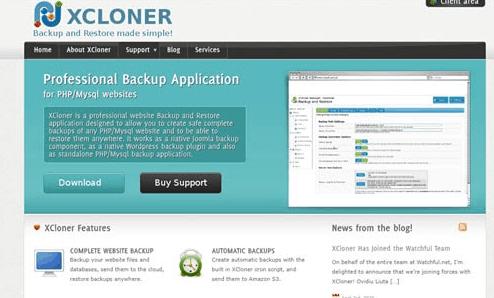 cloner un site web