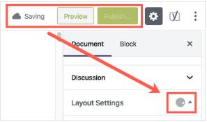 désactiver la sauvegarde automatique dans l'éditeur Gutengurg de WordPress