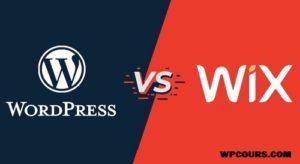 WORDPRESS VS WIX quel est le meilleur