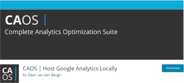 héberger google analytics localement