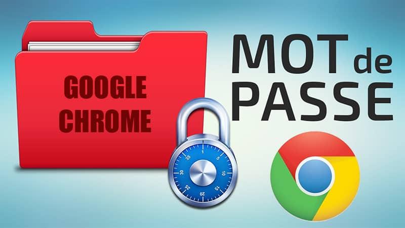 importer et exporter les mots de passe de google chrome